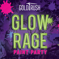 Gold Rush GlowRage Paint Party