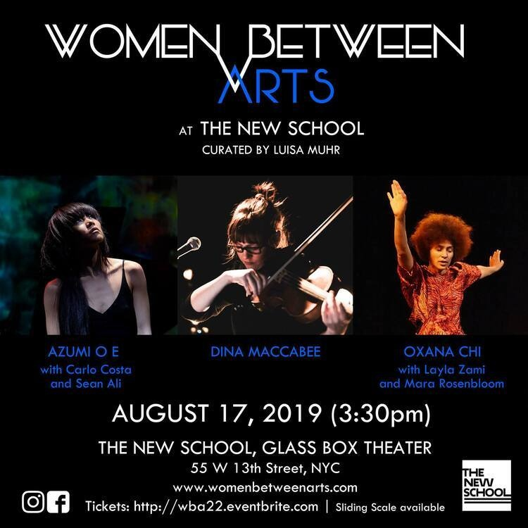 Women Between Arts curated by Luisa Muhr: O E / Maccabee / Chi