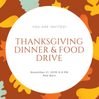 Thanksgiving Dinner & Food Drive