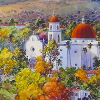 Watercolor Demonstration by Kevin Davidson