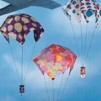 STEM Family Time: Parachute Races!