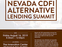 Nevada CDFI Alternative Lending Summit