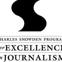 Charles Snowden Program for Excellence in Journalism Reception