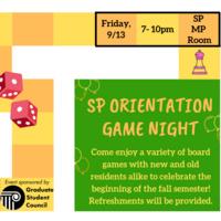 SP Orientation Game Night