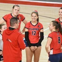 Liberty Volleyball v. Virginia Tech