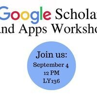 Google Scholar and Google Apps