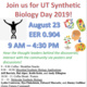 UT Synthetic Biology Day 2019