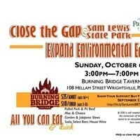 Fundraiser for Sam Lewis State Park Environmental Center