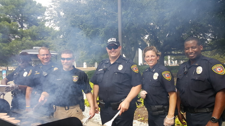 Cookout with the Cops  at SSTU South Student Center
