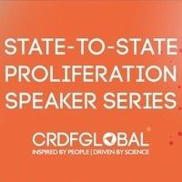 State-to-State Proliferation Speaker Series featuring Dr. Daniel Gerstein