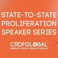 State-to-State Proliferation Speaker Series featuring Dr. Koblentz