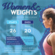 Women and Weights
