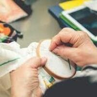 Crafty Hour: Cross-Stitch with Krampus