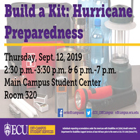 Build a Kit: Hurricane Preparedness