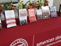 AMST welcome reception & book party