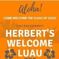 Herbert College of Agriculture Welcome Back Luau