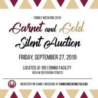 Garnet & Gold Silent Auction