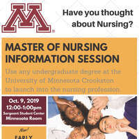 Master of Nursing Information Session