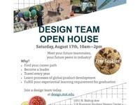 Design Teams' Open House