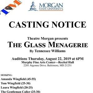 Theatre Morgan Casting Notice (Auditions)