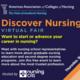 Discover Nursing Virtual Fair