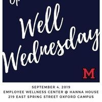 Well Wednesday Open House