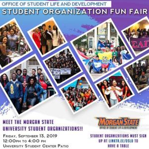 Student Organization Fun Fair
