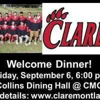 Men's Lacrosse Club Welcome Dinner