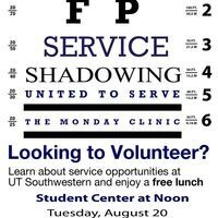 Learn about Service Opportunites