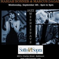 JAZZ WEDNESDAYS - MARIAH BONNER AND MARCUS DAGAN