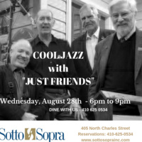 JAZZ WEDNESDAYS - JUST FRIENDS QUARTET
