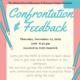 Confrontation & Feedback