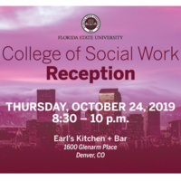 College of Social Work Reception - Denver