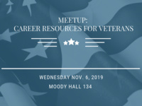 Meet-Up: Career Resources for Veterans