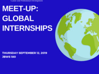 Meet-Up: Global Internships
