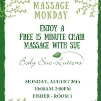 AUGUST Massage Monday