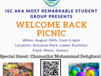 ISC Welcome Back Picnic