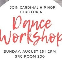 Cardinal Hip Hop Club Workshop