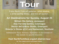 North Fork Art District Art Tour