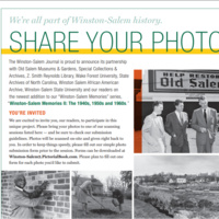 Winston-Salem Memories II Scanning Session