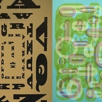 """Typographic Vision(s)"" Exhibition Installation by Virginia Green & Mervi Pakaste"