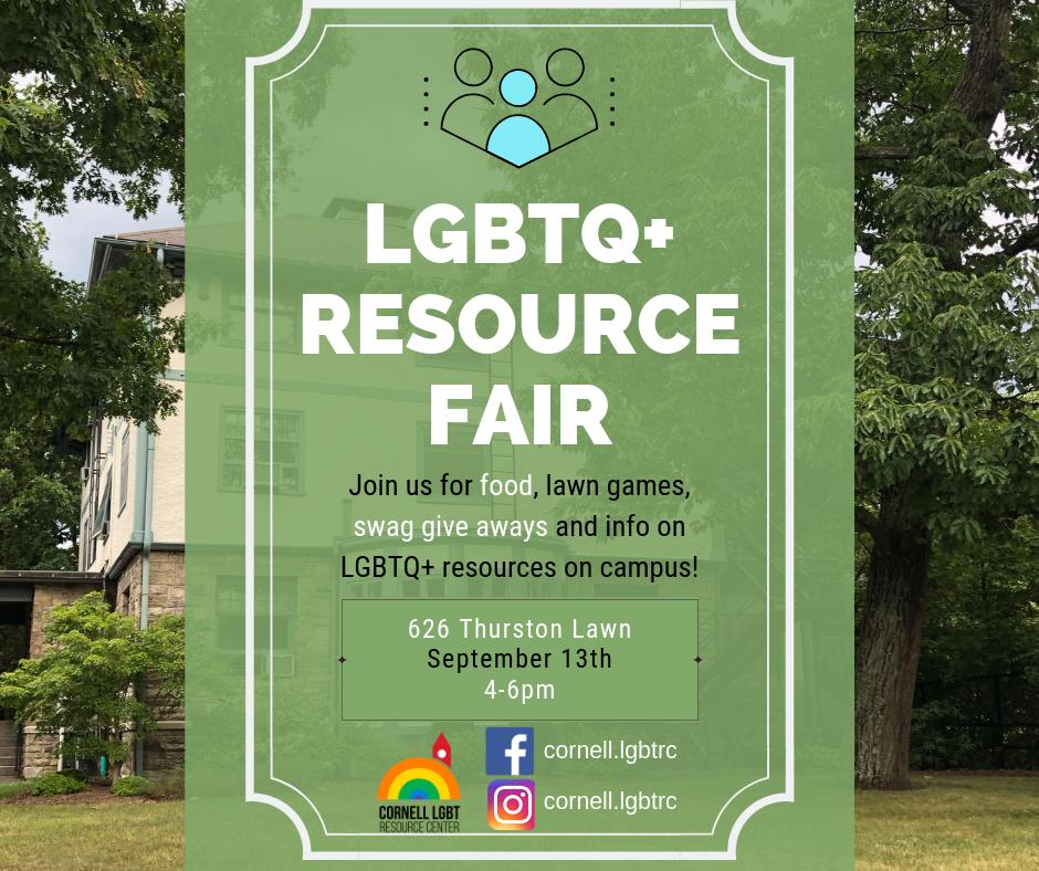 LGBTQ+ Resource Fair