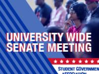 SGA University-wide Senate Meeting