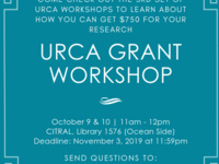 URCA Grant Workshop