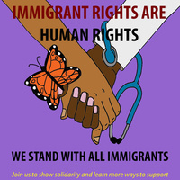 Immigrant Rights are Human Rights Rally