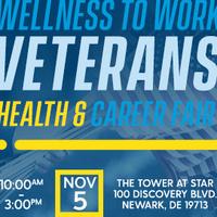 Wellness to Work Veterans Health & Career Fair