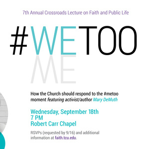 #wetoo: how the church should respond to the #metoo movement