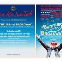 VSRI Welcome Back Event: Bathtubs over Broadway (USC VSRI)