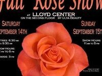Portland Rose Society's Fall Rose Show