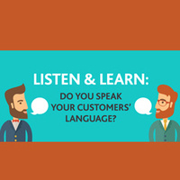 Speaking Your Customer's Language (CSAC01-0039)